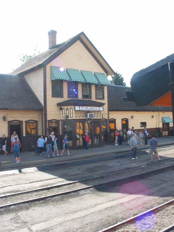 Durango train station