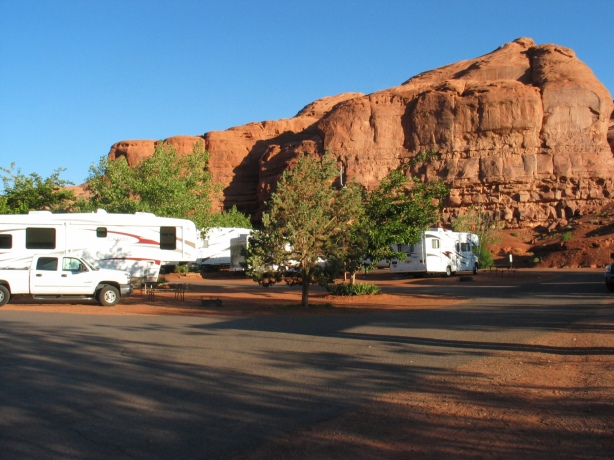 Goulding Campground setting