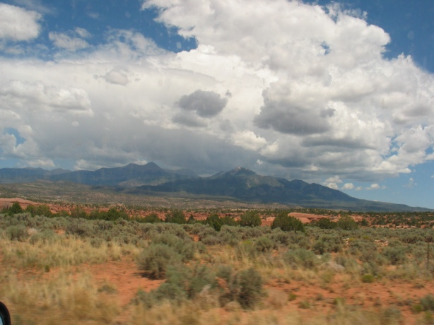 View as we travel north to Moab, UT