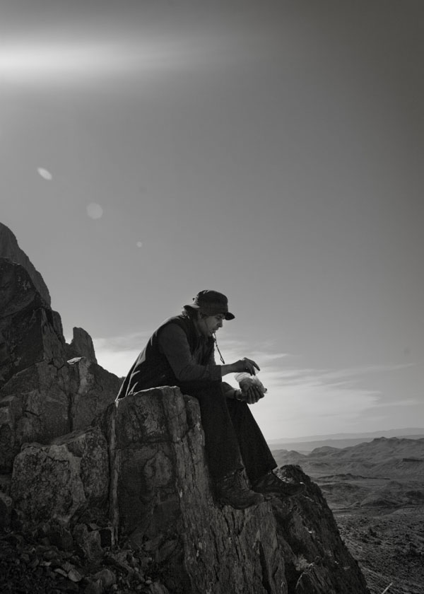 A Man and his Sandwich - Sitting on Top of the World