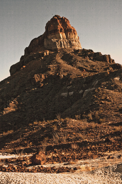 One Of The Peaks of Cerro Castellan