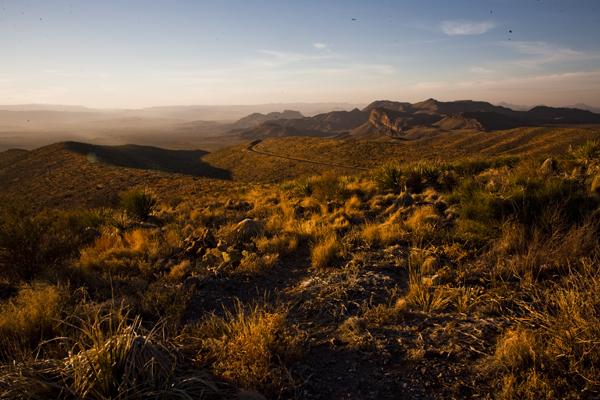 Sunset At Sotol Vista Big Bend National Park
