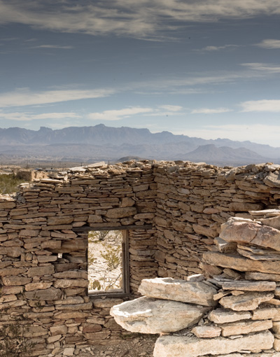 mine lodging ruins Terlingua
