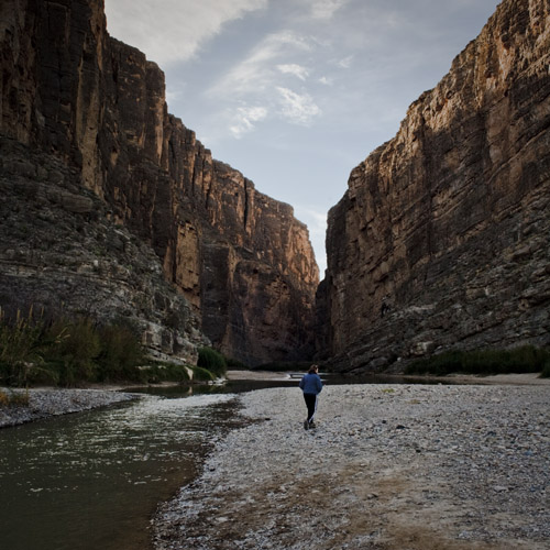 Sharon Santa Elena Canyon Big Bend NP